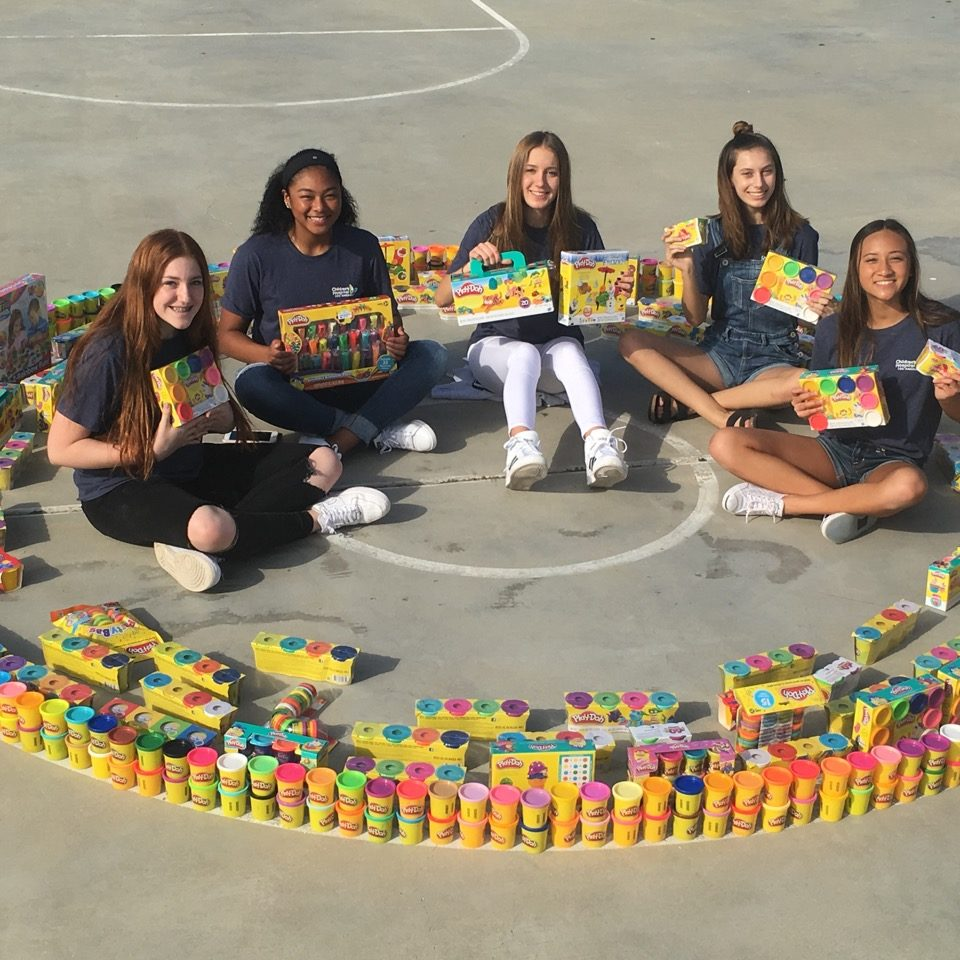 Teen Guild Members with all their collected Play Doh